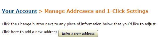 New-address-for-delivery-amazon
