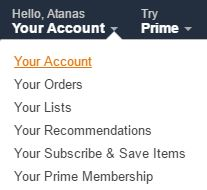 my-account-amazon