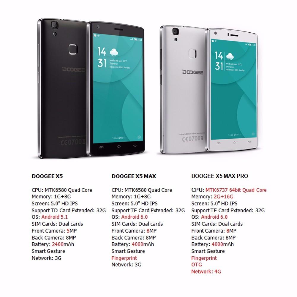 doogle-x5-max-pro-телефони2