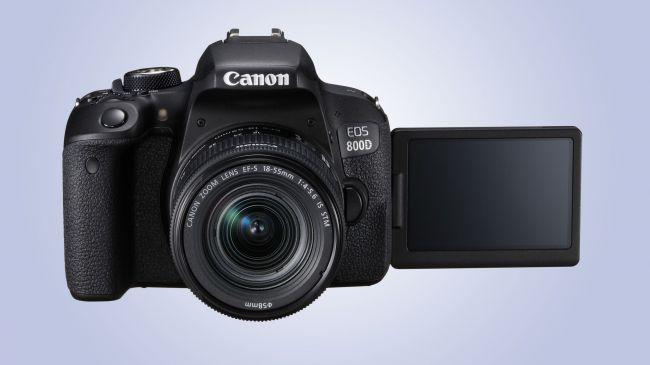 Фотоапарат DSLR Canon Eos за начинаещи