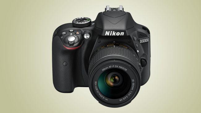 DSLR фотоапарат Nikon D3300