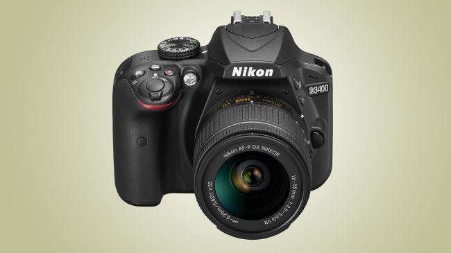 DSLR фотоапарат Nikon D3400
