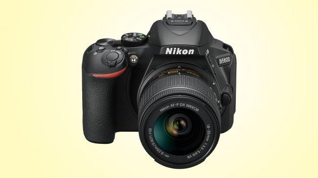Фотоапарат Nikon D5600 за начинаещи