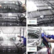 Фин кристал за автомобил със стъклено покритие