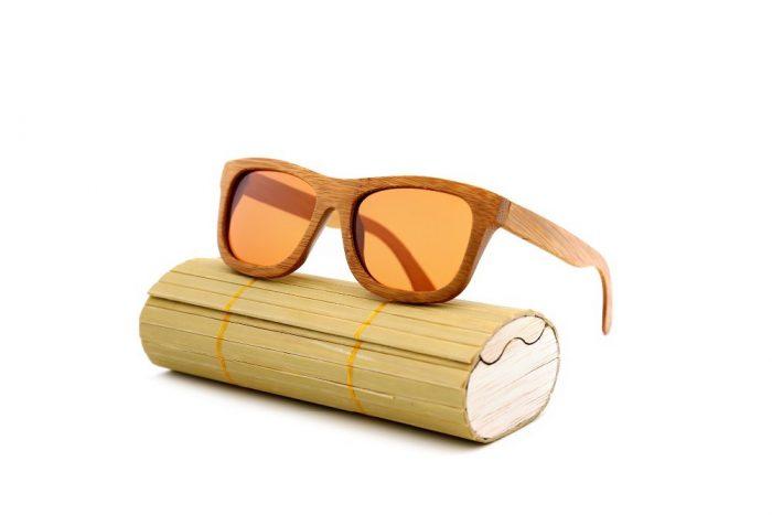Бамбукови дървени очила Алиекспрес