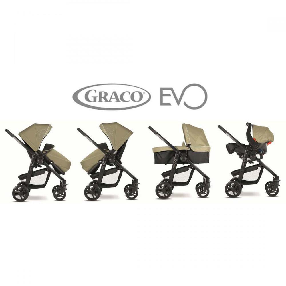 Коляска Graco Evo Trio