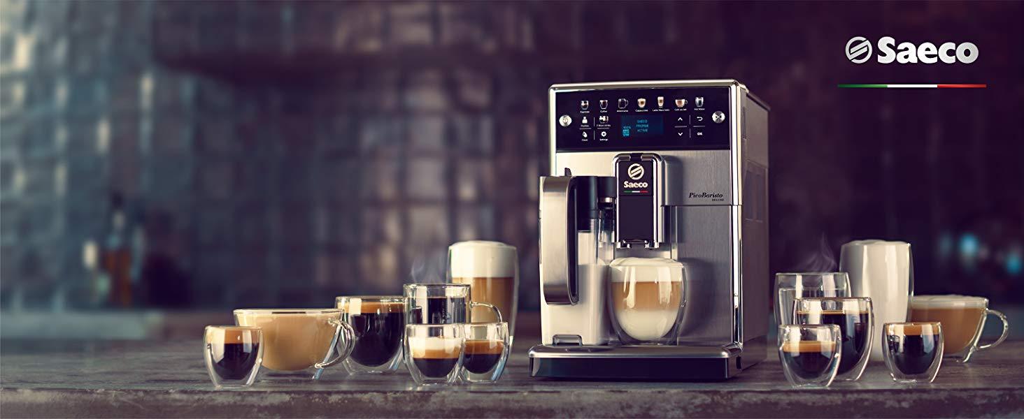 Кафе машина Saeco PicoBaristo Deluxe