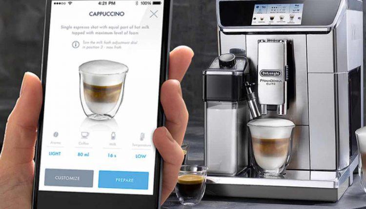 кафе машина de longhi primadonna
