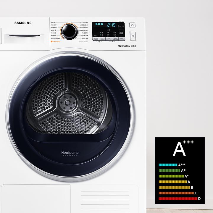 Сушилня за дрехи Samsung DV70M5020QW / LE