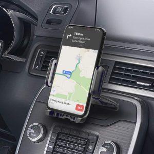 Стойка за телефон в кола за CD