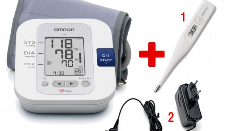 Апарат за кръвно налягане Omron